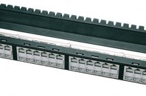 Patch panel for RJ45 CAT6A. AMJ serie.
