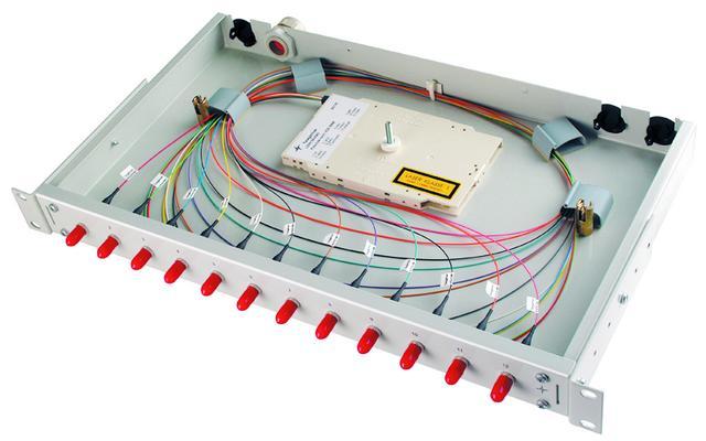 Patch panel for fiber. Basis V.