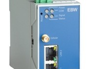 Industriell HSPA router med VPN. EBW-H100