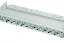 19″ patch panel for fiber. Economy V