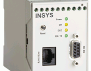 Industrielt ISDN modem. INSYS ISDN