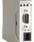 Industrielt analog 56k modem. INSYS Modem Small.