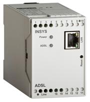 Industrielt ADSL modem. INSYS ADSL