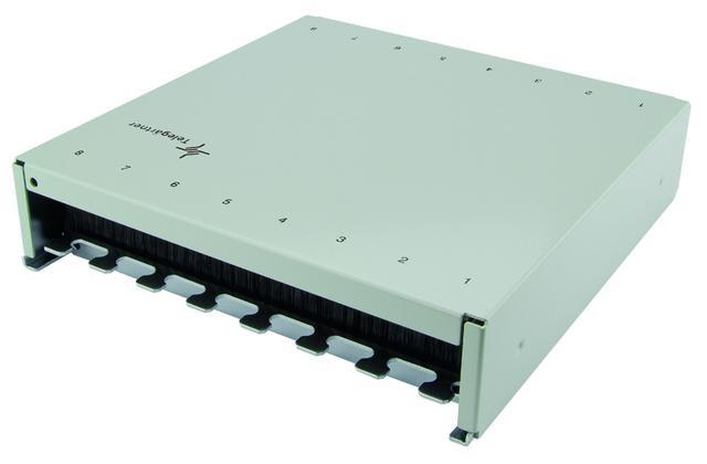 Veggboks for RJ45 og fiber.