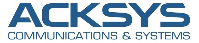 ACKSYS - industriell kommunikasjon