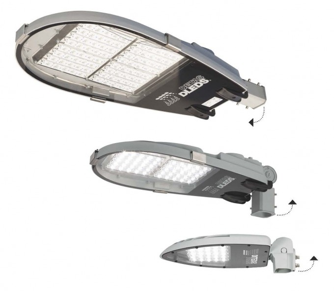 Stratos LED gatelys armatur