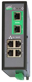 SHDSL switch fra Etic.