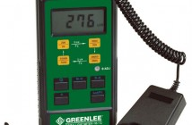 Greenlee Luxmeter for lysmåling