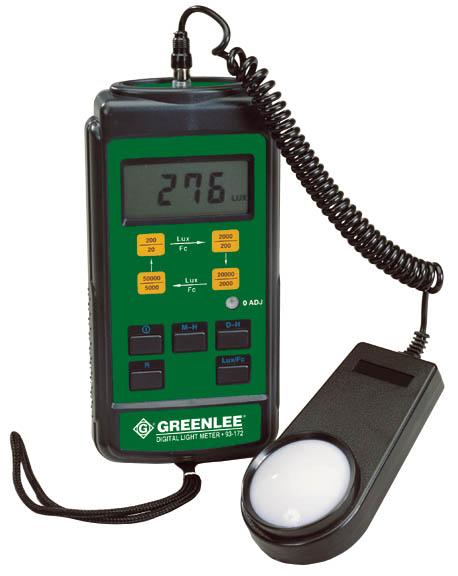 Greenlee Luxmeter