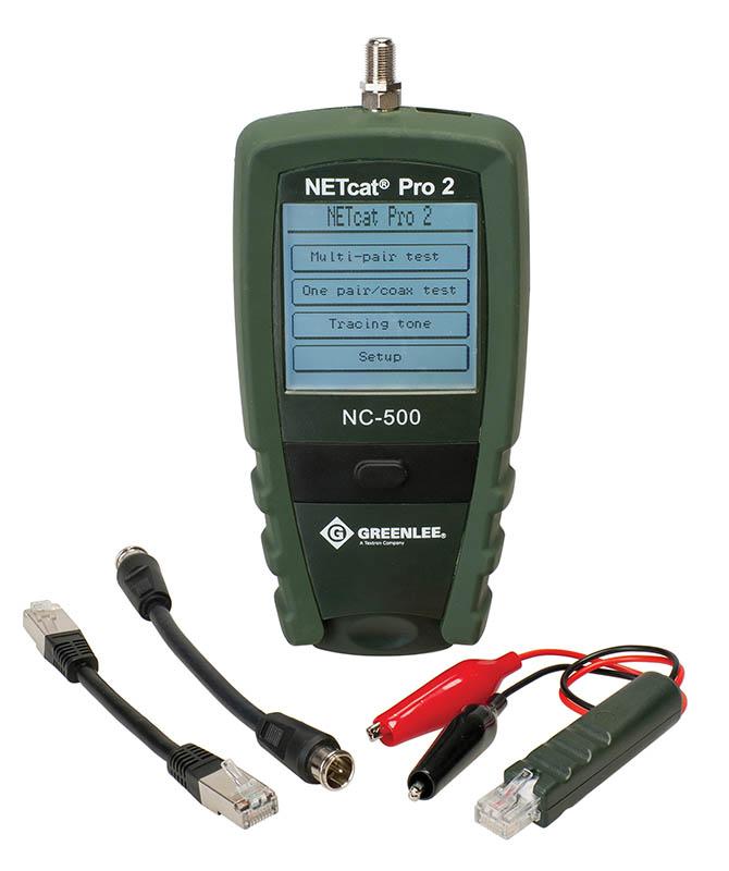 NetCAT Pro LAN kabeltester