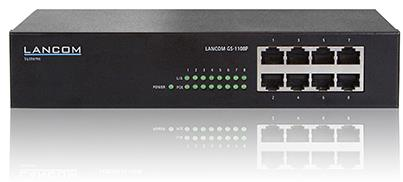 Gigabit ethernet switcher fra Lancom