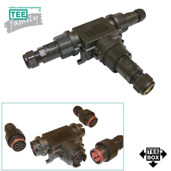 Techno vanntett koblingsmateriell for 230-400VAC