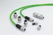 M12 kontakt for ethernet og profinet