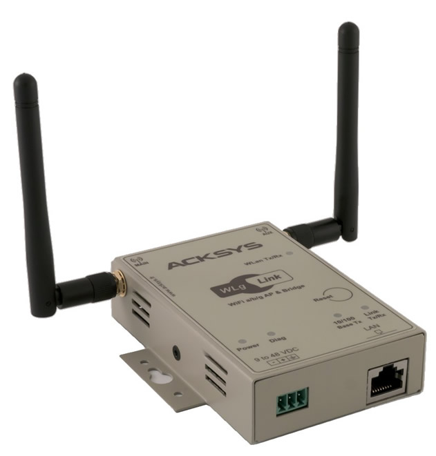 Industrielt WLAN access point. WLg-serie.