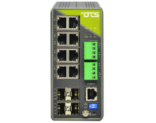 Hardened managed switch for industrielt ethernet