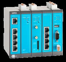 Industriell modulær router