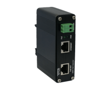 OTS PoE injector for industrielt ethernet