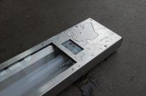 Vandalsikkert LED armatur i syrefast stål. CLr-2