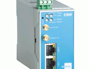 Industriell HSPA og WLAN router. EBW-WH100