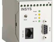 Industrielt ISDN modem. INSYS ISDN