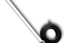 WLAN antenne for ute og inne bruk