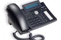 Servicetelefon i teknisk rom. SNOM 320