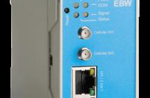 Industriell 4G router med firewall og VPN. EBW-L100