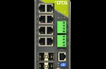 Hardened managed switch med 8+4 gigabit porter