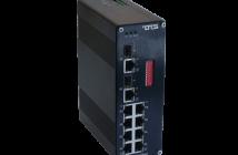 Unmanaged switcher for industrielt ethernet