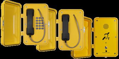 VoIP industritelefon med dør