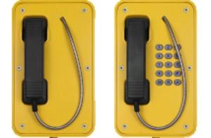 VoIP industritelefon uten dør
